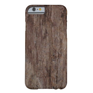 Brown Wooden BarkWooden Bark Barely There iPhone 6 Case