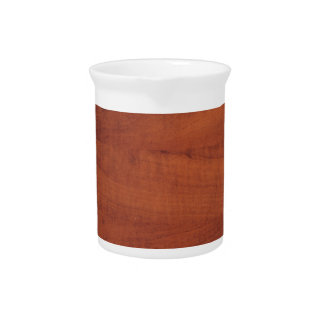 Brown wooden design drink pitchers