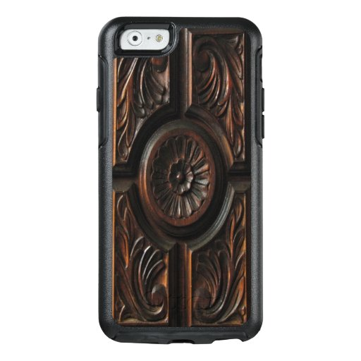 Brown Wooden Image OtterBox iPhone 6/6s Case