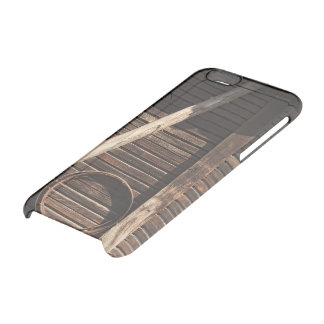 Brown Wooden Planks Barn Wall - rural photography Uncommon Clearly™ Deflector iPhone 6 Case