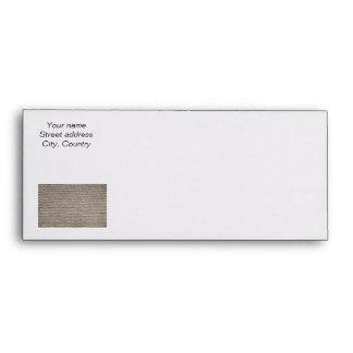 Brown wool knit texture envelope