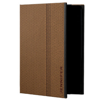 Brown Worn-Out Leather Look Powis iPad Air 2 Case