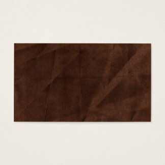 brown wrinkled background business card