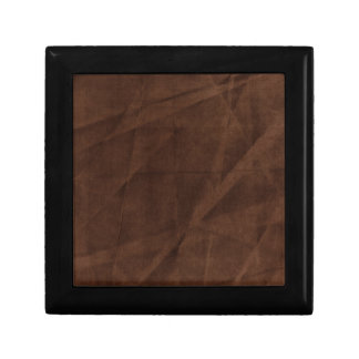brown wrinkled background jewelry box