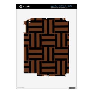 Brown y armadura negra de T Pegatinas Skins Para iPad 3
