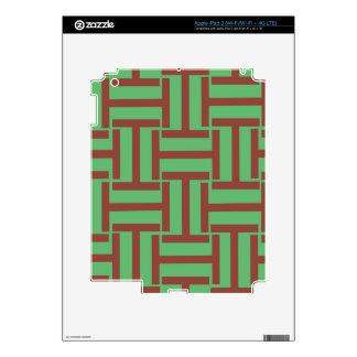 Brown y armadura verde clara de T Pegatinas Skins Para iPad 3