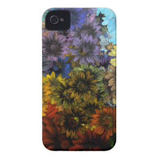 Brown y azul Case-Mate iPhone 4 coberturas