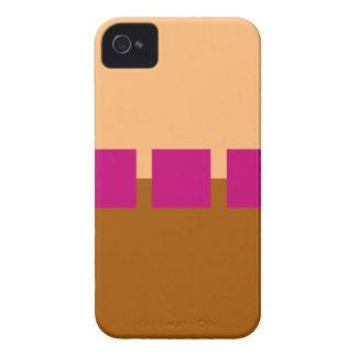 Brown y cuadrados rosados