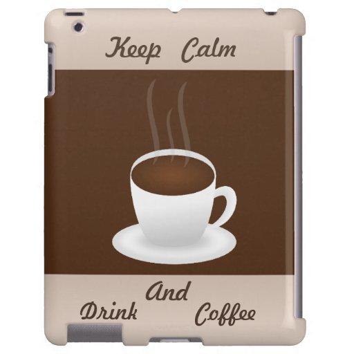 Brown y diseño beige del café