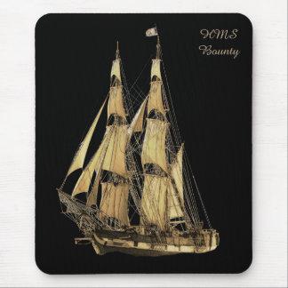 Brown y imagen negra de la nave alta tapetes de ratones