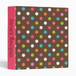 Brown y libro rosado de la receta del lunar