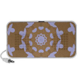 Brown y locutor azul del caleidoscopio laptop altavoz