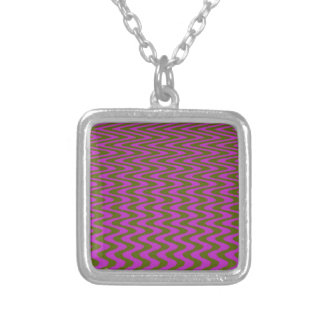 Brown y modelo de onda rosado collares