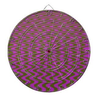 Brown y modelo de onda rosado tabla dardos