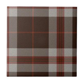 Brown y teja roja del tartán