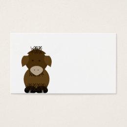 Brown Yak Business Card