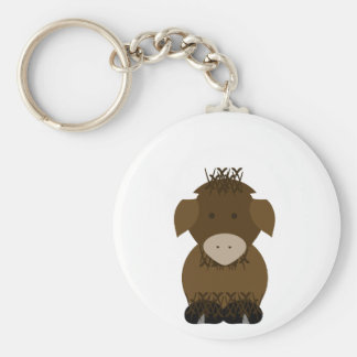Brown Yak Keychains