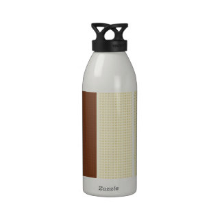 Brown & Yellow: Two- Toned Drinking Bottles