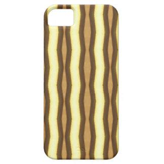 Brown Zebra Stripes iPhone 5 Cases