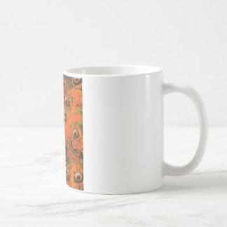Brown Zombi Eyes Coffee Mug
