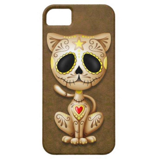 Brown Zombie Sugar Kitten iPhone 5 Cases
