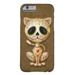 Brown Zombie Sugar Kitten iPhone 6 Case