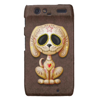 Brown Zombie Sugar Puppy Dog Droid RAZR Covers