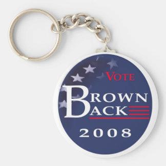 Brownback '08 Key Chain