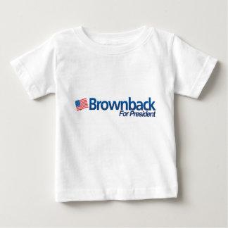 Brownback Baby T-shirt