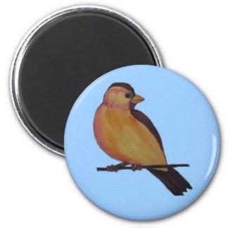 Brownback Bird 2 Inch Round Magnet