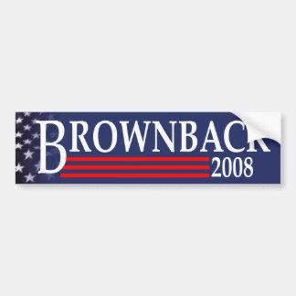 Brownback for President Bumper Sticker