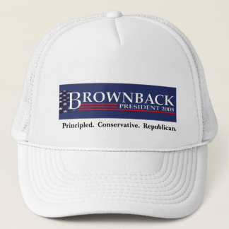BROWNBACK FOR PRESIDENT Cap