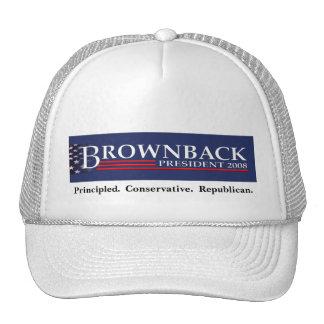 BROWNBACK FOR PRESIDENT Cap