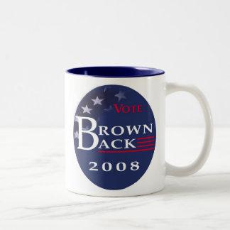 Brownback for President Coffee Mug