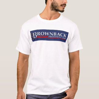 BROWNBACK LOGO T Front Side Only :-) T-Shirt