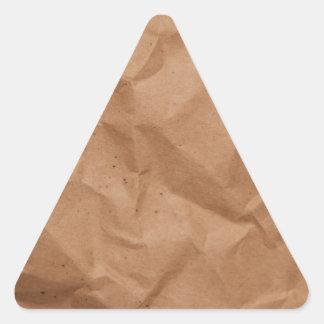 Brownbagging Triangle Sticker