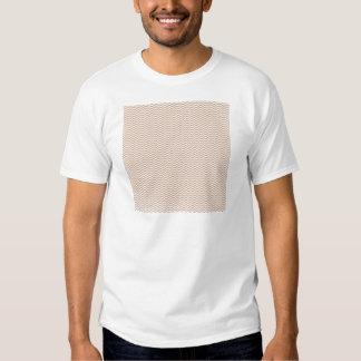 brownchevrongrungepaper BROWN GRUNGE zigzags CHEVR T-Shirt
