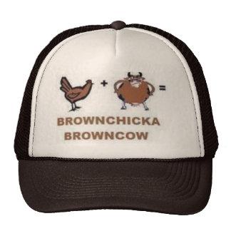 brownchicka browncow trucker hat
