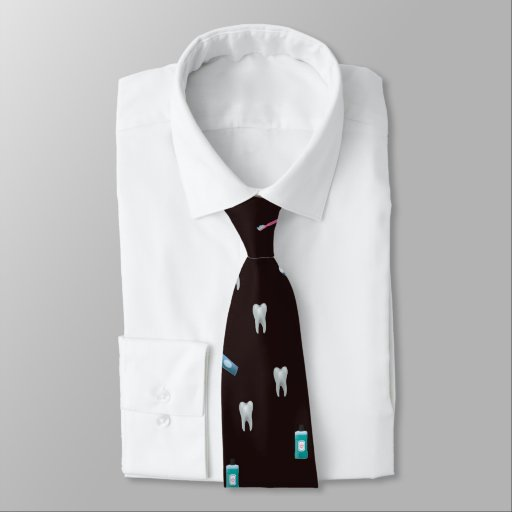 BrownDental Neck Tie