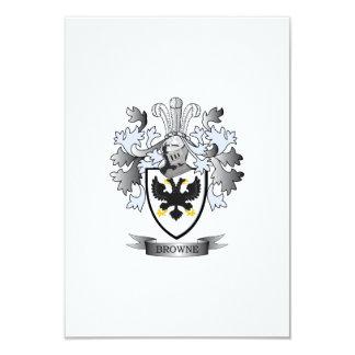 Browne Coat of Arms Card