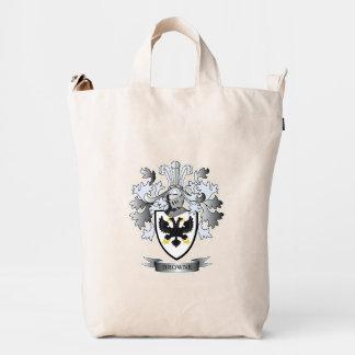 Browne Coat of Arms Duck Bag