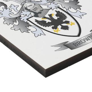 Browne Coat of Arms Panel Wall Art