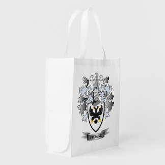 Browne Coat of Arms Reusable Grocery Bag