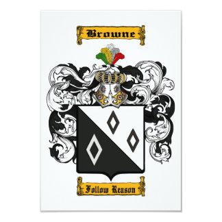 Browne (English) Card
