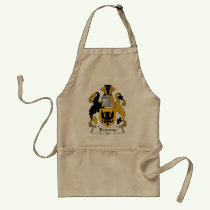 Browne Family Crest Apron
