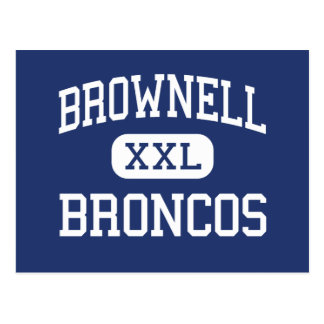 Brownell Broncos Middle Grosse Pointe Postcard
