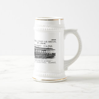 Brownell Car Company 1890 Beer Stein