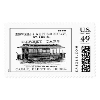 Brownell Car Company 1890 Postage