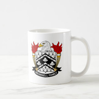 Brownell Family Crest Coffee Mug