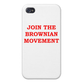 BROWNIAN2.png iPhone 4/4S Cover